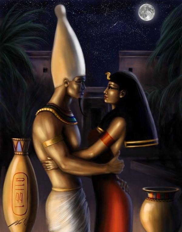 Миф. Исида и Осирис
